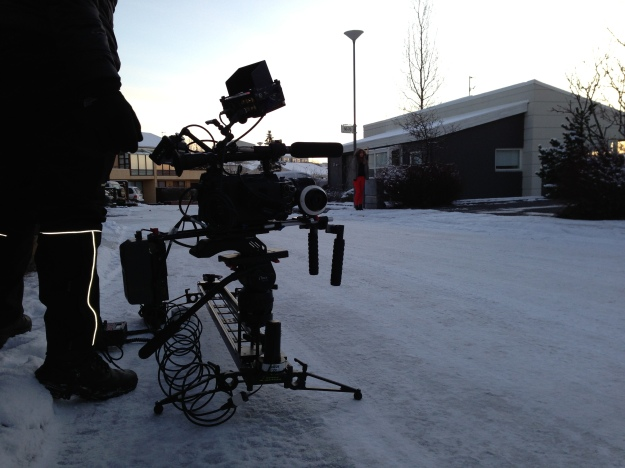 Using the Kessler Cineslider with a motor unit to capture the final vfx shot